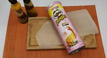 Чипсы Pringles со вкусом краба