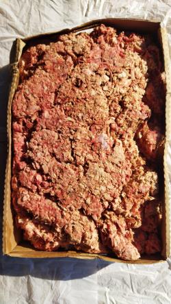 Мясокостный фарш индейки