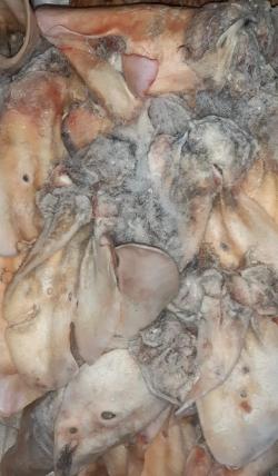 Уши мытые говяжьи